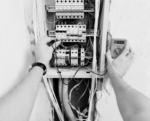 renovation tableau electrique rennes