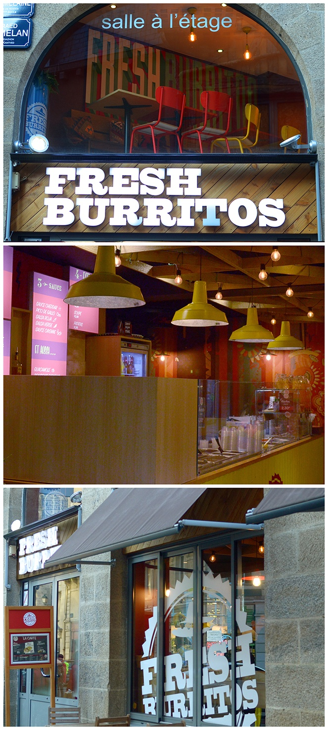 Chantier Fresh Burritos